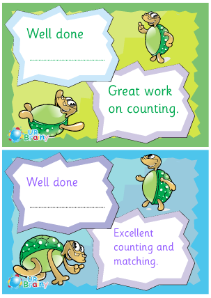 Preview of worksheet Pair Of Counting Certificates