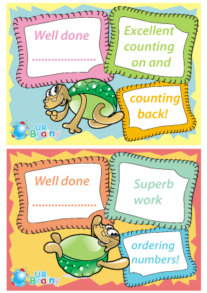 Preview of worksheet Counting and Ordering Certificates