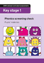 2016 Phonics screening check children's materials