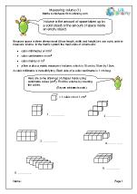 Volume of cuboids (1)
