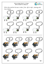 Order four numbers: sheep