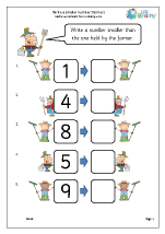 Write a smaller number: farmers