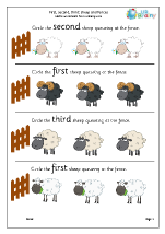 First second and third: sheep