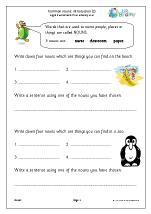Common nouns: introduction 2 (KS1)