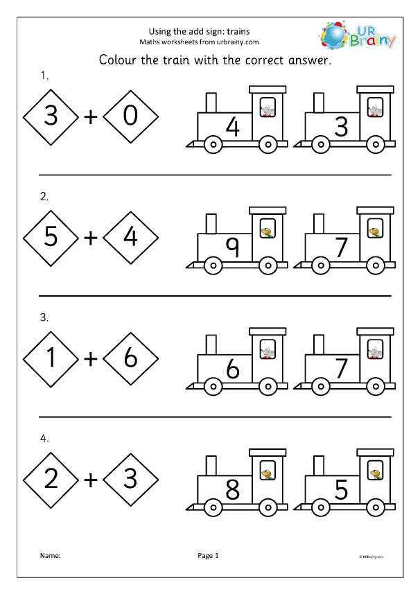 Preview of 'Using the add sign trains'