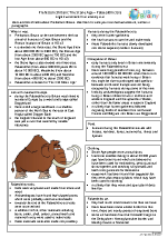 Palaeolithic Britain factsheet