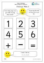 Make 3: number sentences