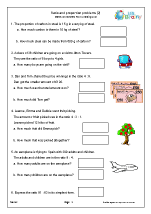 Year 6 Maths Worksheets (age 10-11)