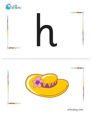 h-hat flashcard