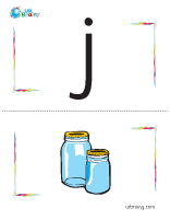 j-jar flashcard