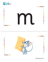 m-mouse flashcard