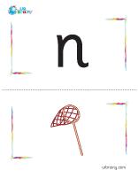 n-net flashcard