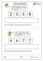 Mastery of 2-digit numbers