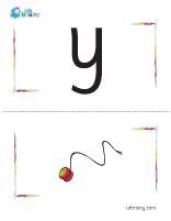 y-yoyo flashcard