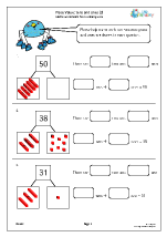 Place value: tens and ones (3)