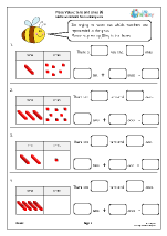 Place value: tens and ones (4)