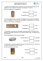 Comparing measurements (2)
