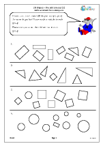 2D shapes: the odd one out (2)