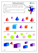 3D shape: the odd one out (1)