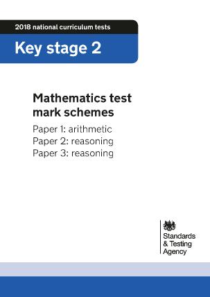 Preview of worksheet 2018 KS2 Maths Mark Schemes