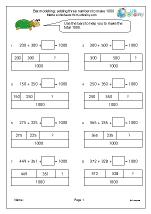 year 3 maths worksheets age 7 8. Black Bedroom Furniture Sets. Home Design Ideas