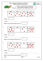 Place value grids up to 1000s(1)