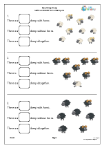 Counting 2 kinds of sheep