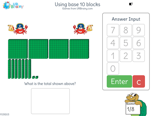 Preview of 'Using base 10 blocks'