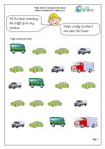 Tally chart transport