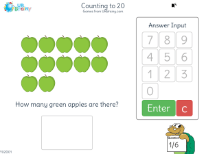 Preview of game Counting to 20