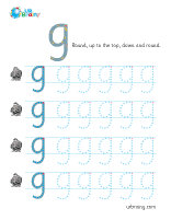 g handwriting