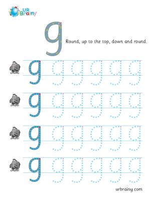 g handwriting