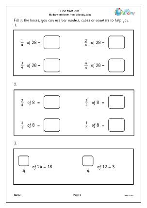 Find fractions