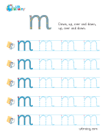 m handwriting