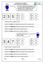 Multiplication possibilities
