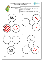 Partitioning numbers: complete part whole models