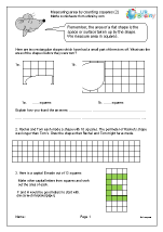Measuring area by counting squares (2)