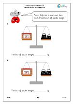 Measuring In kilograms (2)