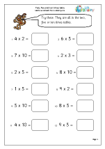 math worksheet : multiplication maths worksheets for year 2 age 6 7  : Math Times Tables Worksheets
