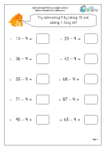 math worksheet : subtraction maths worksheets for year 2 age 6 7  : Yr 2 Maths Worksheets