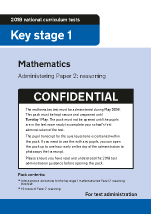2018 KS1 Mathematics Administering Paper 2 Reasoning