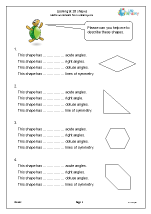 Looking at 2D shapes