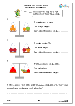 Year 3 Maths Worksheets (age 7-8)
