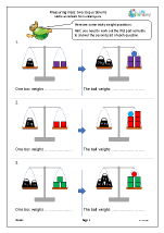 Measuring mass: two step problems