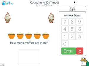Preview of game Counting to 10 (Timed)