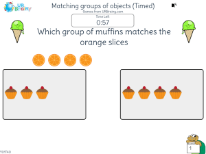 Preview of game Matching groups of objects (Timed)