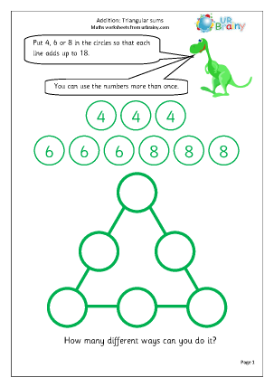 Triangular sums