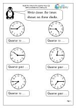 Time to the quarter hour (1)