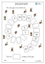 Harder number spirals 0 20 (spiders)