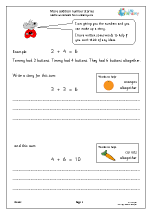 More addition number stories